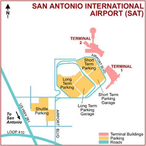 texas airport terminal map map of san antonio texas airport terminal sat