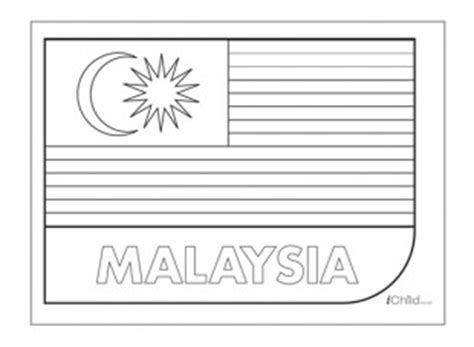 pin malaysia flag coloring pages gt gt disney on pinterest