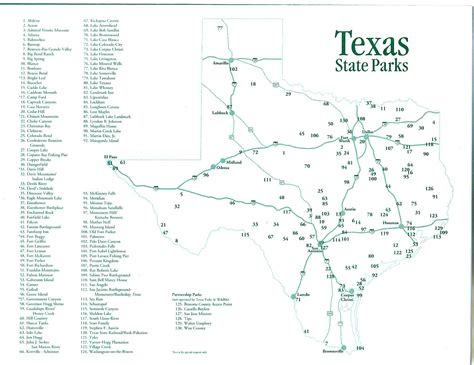 state park map texas equestrian trails