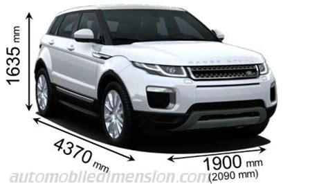 land rover range rover evoque 2015 dimensions, boot space