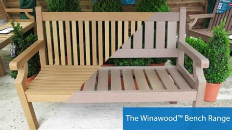 no the bench winawood benches the no maintenance garden bench youtube
