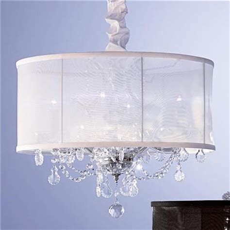Modern Chandelier Shades Organza Shade Chandelier Modern Chandeliers By Shades Of Light
