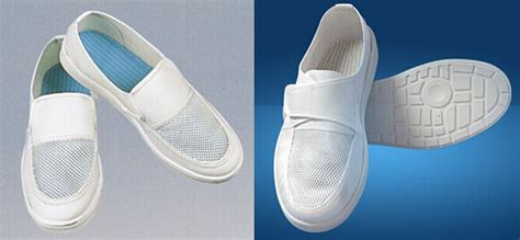 Esd Shoes Mesh Cover Sole Pvc anti static boots white cleanroom safety shoes with cover lab sh 04 esd shoe buy esd shoe