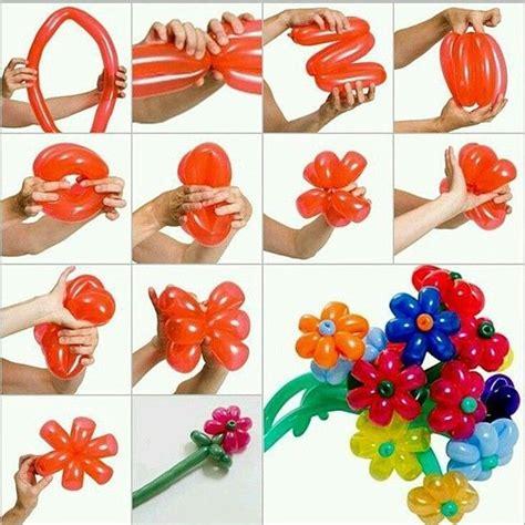 palloncini modellabili fiore le 25 migliori idee su fiori a palloncino su