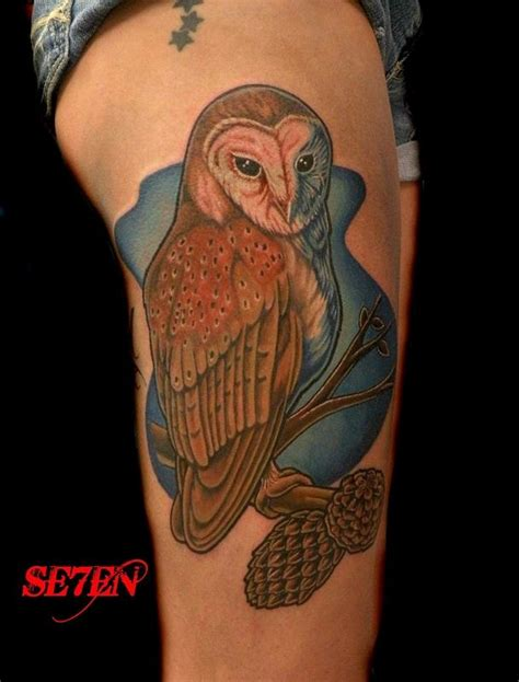 tattoo barn owl barn owl tattoos