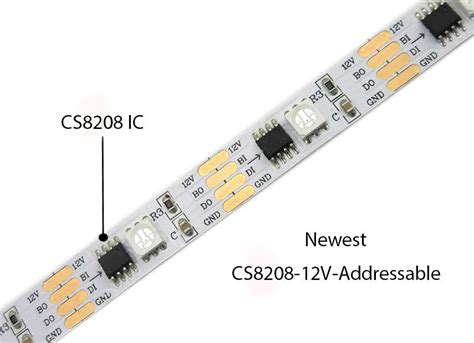 Addressable Led Controller - newest cs8208 digital rgb 12v individually addressable