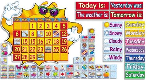 Classroom Calendar Feature Scholastic Teachers Friend Classroom Weather
