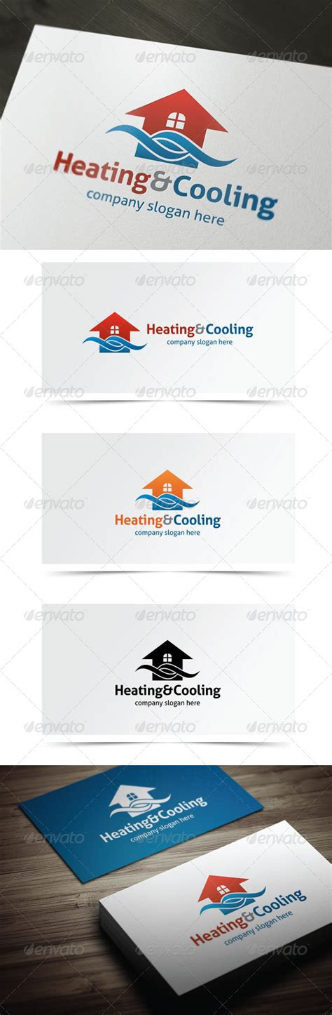 Logo Template Graphicriver Heating Cooling 5882543 187 Dondrup Com Heating And Cooling Website Template