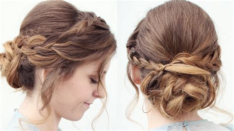 upstyle hairstyles romantic braided updo upstyle updo hairstyles