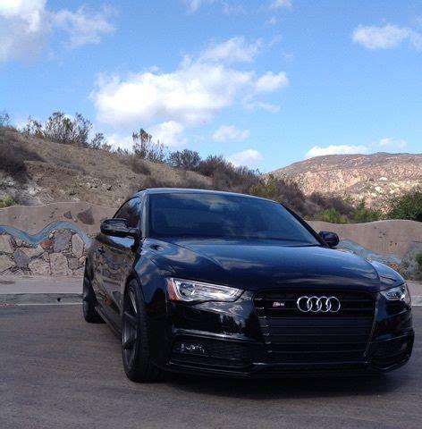 Audi S5 Coupe Quattro Manual Black Vossen Wheels