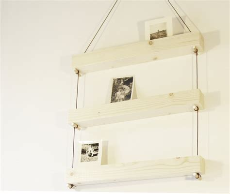modern hanging shelves ways to decorate with hanging shelves