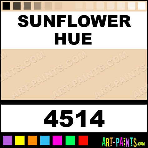 acrylic paint in definition sunflower high definition acrylic paints 4514