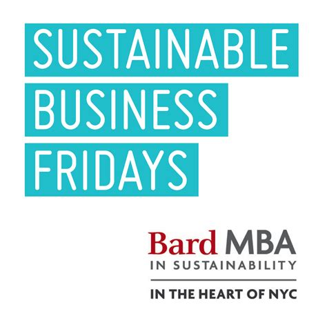 Mba In Portugal In by Bard Mba Sustainable Business Fridays Series Podcast