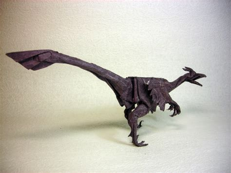 Origami Velociraptor - origami velociraptor 28 images how to make a simple