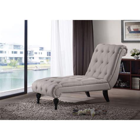 lounge sofa chair tufted chaise lounge chair beige button modern bed sofa