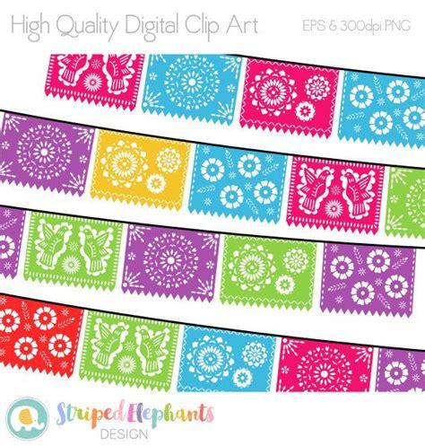 printable mexican banner papel picado clipart mexican banners clip art cinco de