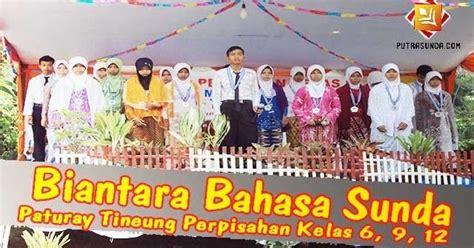 Contoh Biantara Bahasa Sunda Yang Pendek Disclosing The Mind Www