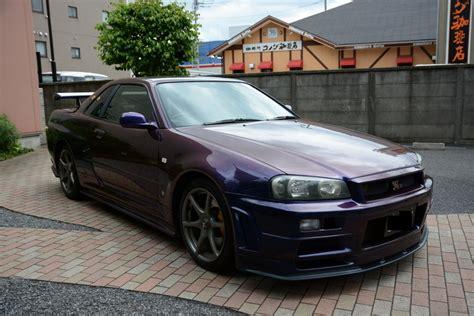 nissan midnight purple 2000 nissan skyline gtr r34 for sale rightdrive usa