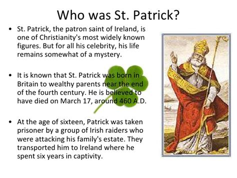 the history of st why is st s day celebrated on march 17th