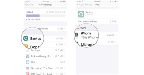 how to make room for icloud backup how to manage your icloud storage on iphone or imore