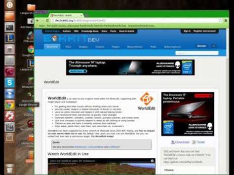 installing ubuntu server youtube tutorial 2 installing plugins ubuntu minecraft server