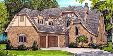 french tudor house plan family home plans blog house plan 53786 at familyhomeplans com