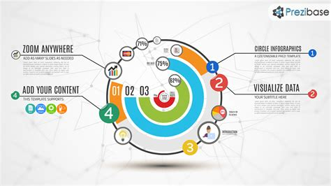 Layout Design Maker circle infographics maker prezi template prezibase