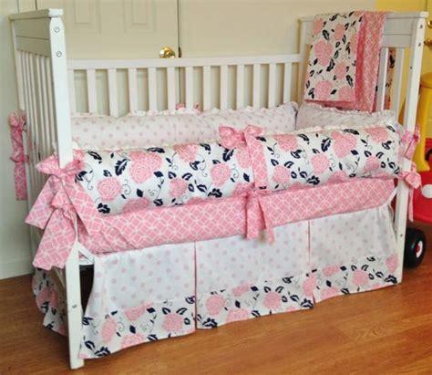 nursery bedding sets for girl crib bedding baby girl bedding set navy pink white design your own crib set