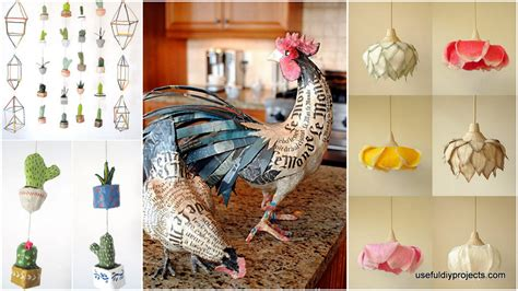 18 paper mache ideas you can use to decorate your home