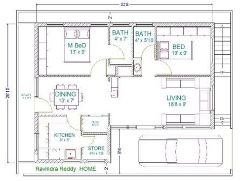 home design for 30x40 site 30 x 22 floor plans 30x40 house plans home plans