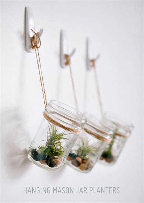 Jar Hanging Planter by Make It Diy Hanging Jar Planters 187 Curbly Diy