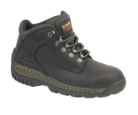 Safety Shoes Country Boots dr martens fs61 black safety work hikers charnwood