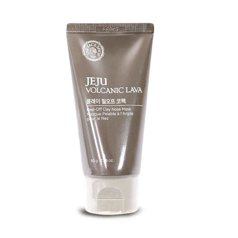 Harga The Shop Jeju Volcanic Lava Peel Clay Nose Mask the shop jeju volcanic lava peel nose mask