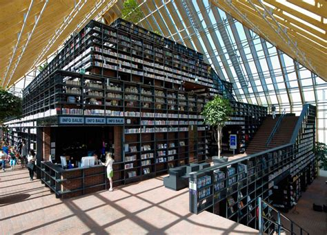 mountain books mvrdv book mountain library quarter spijkenisse