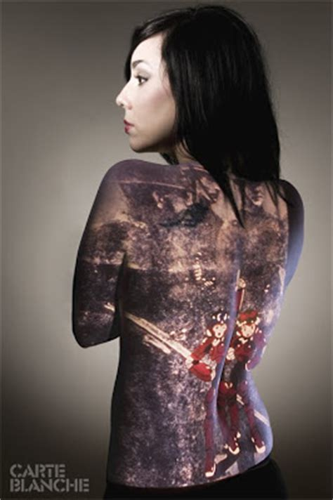 yakuza tattoo art japanese tattoo for girls