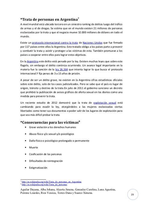trata de personas en argentina wikipedia la newhairstylesformen2014 monografia trata de personas