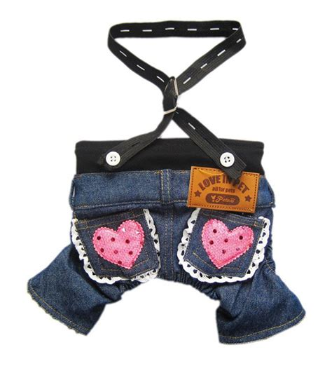 tea cup yorkie clothes denim the newest comeback in teacup clothes