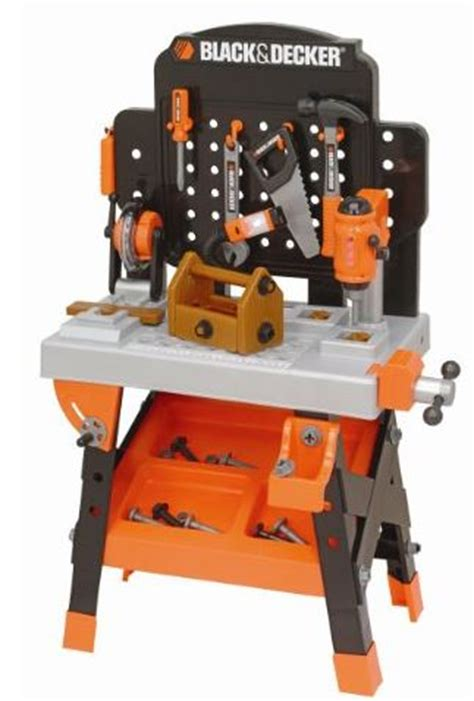 kids tool bench black and decker black and decker junior power tool workshop just 39 99