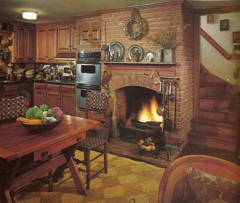 kitchen fireplace ideas build a fireplace in your kitchen 14 jpg kitchens