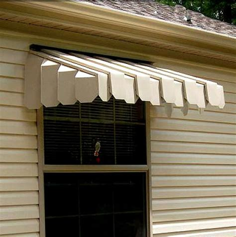 side door awning brookside window awning with angled side panels