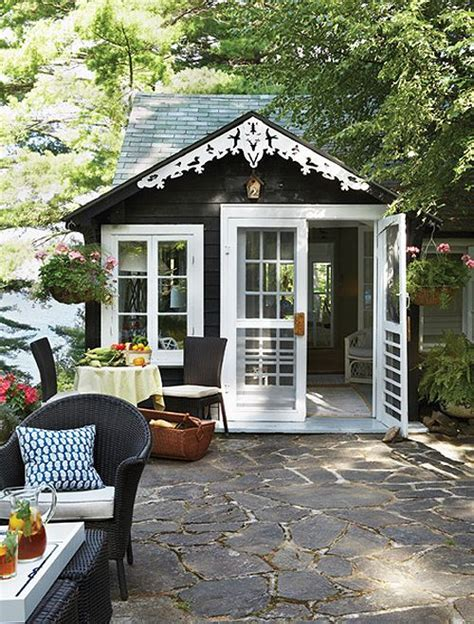tool shed transformed tiny house design it was just a shabby little shed out back until wife