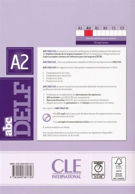 abc delf livre de 209038171x abc delf a2 200 exercices livre cd audio mp3 nyelvk 246 nyv forgalmaz 225 s nyelvk 246 nyvbolt