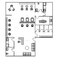 Floor Plan Of A Salon floor plan examples