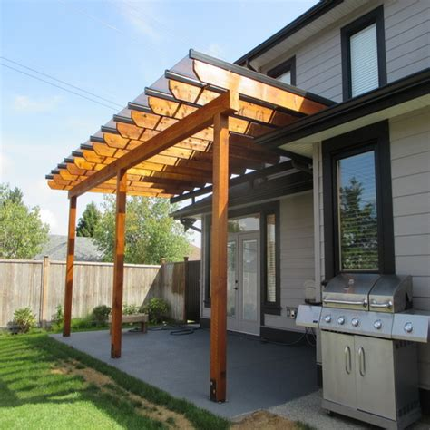 stand  tubs pergola patio cover glass build
