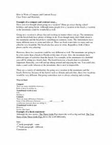 Comparison Essay by Writing An Introduction For A Compare And Contrast Essay List Of Idioms For Essay Writing