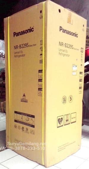 Lemari Es Panasonic Nr B228g panasonic daftar harga peralatan elektronik termurah dan