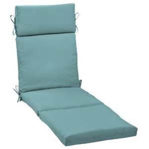 hton bay turquoise solid outdoor chaise lounge cushion