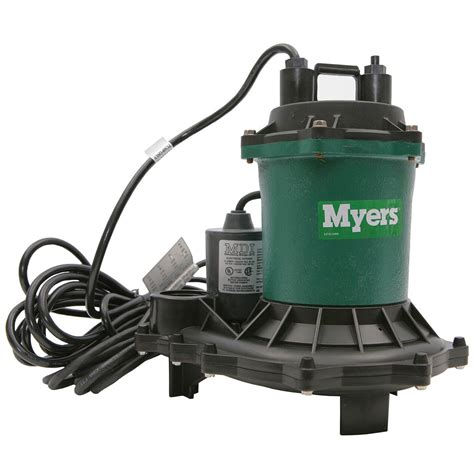 sump pumps myers submersible me40 sump qc supply