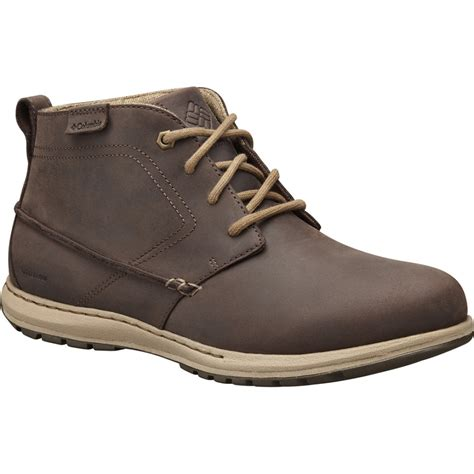 waterproof chukka boots mens columbia mens davenport chukka waterproof leather boot