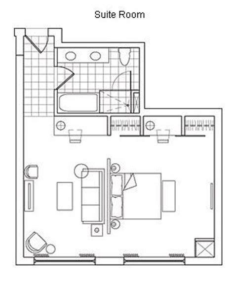 typical hotel room floor plan typical hotel room floor plan hotel rooms and suites